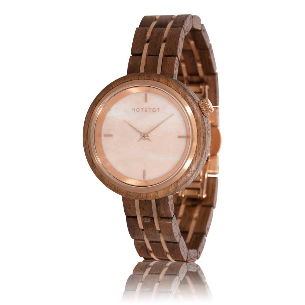 Houten horloge Phoenix