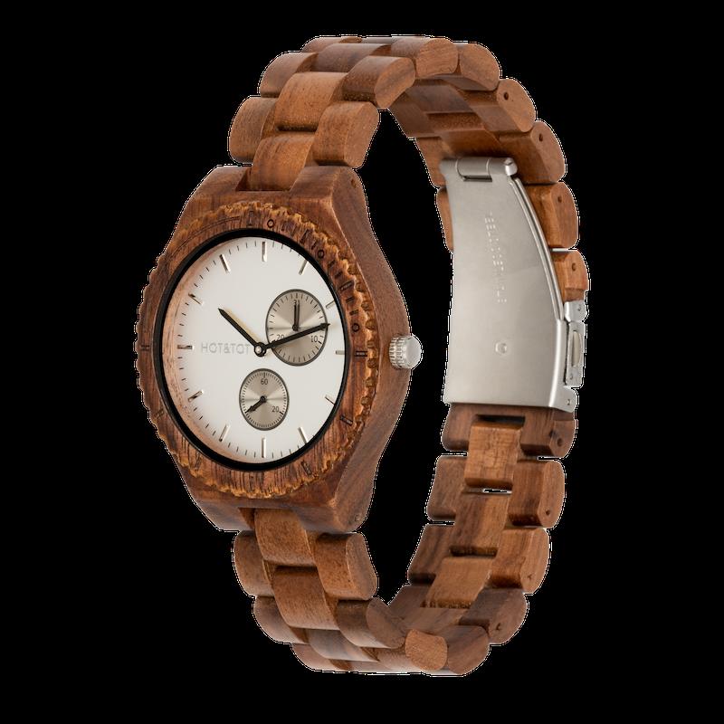 Houten horloge Kairos