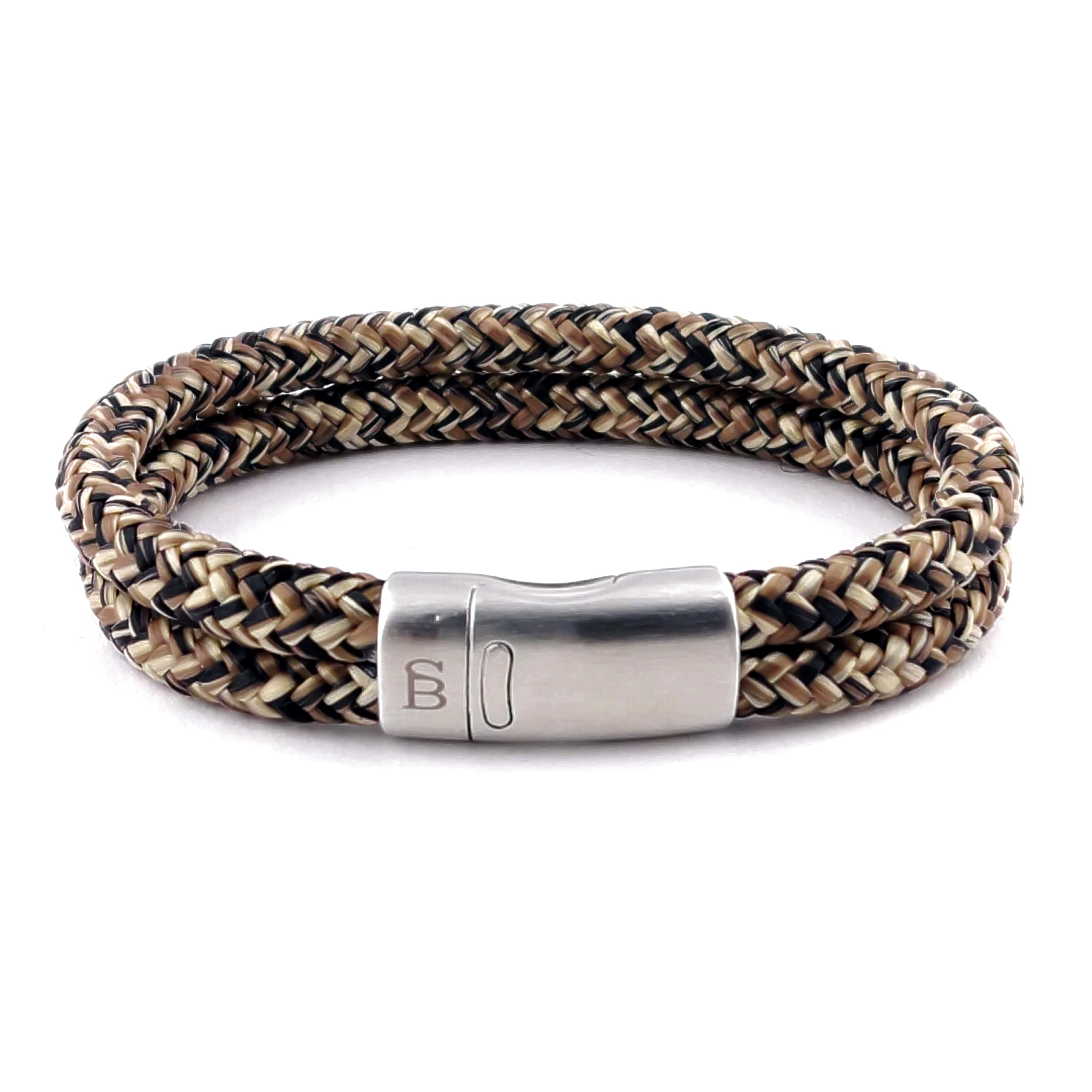 Koord armband Lake Rusty