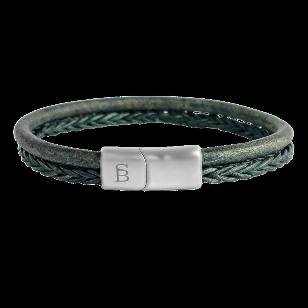 Leren armband Denby Military