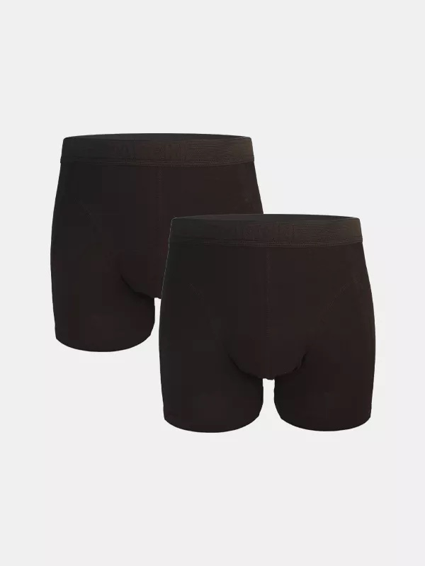 Boxershorts 2-pack Black on Black